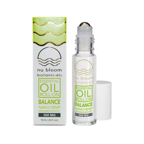 Nu Bloom Botanicals Balance Essential Oil Roll-On 300mg 10ml