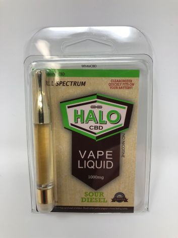 Sour Diesel - Halo CBD Vape Cartridge (1000mg)