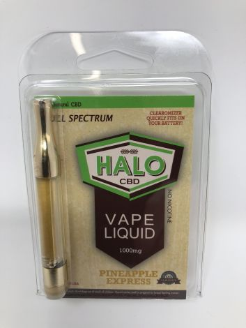 Pineapple Express - Halo CBD Vape Cartridge (1000mg)