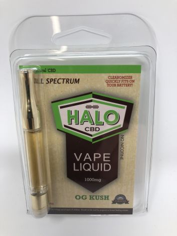 OG Kush - Halo CBD Vape Cartridge (1000mg)
