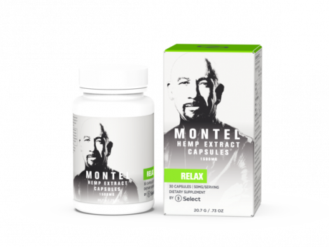 Relax - Montel by Select Capsules - 1500 mg