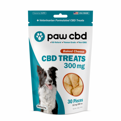 PawCBD Dog Treats Baked Cheese - 300mg