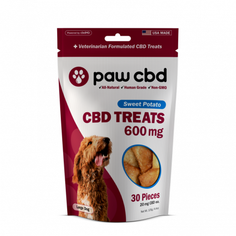 PawCBD Dog Treats Sweet Potato - 600mg