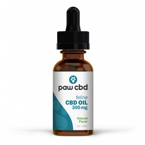 PawCBD Feline CBD Oil Natural- 300mg