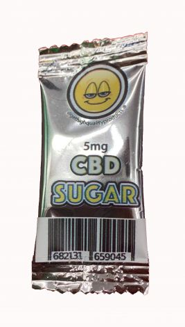 CBD Infused Sugar - 5mg