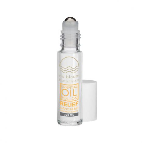 Nu Bloom Botanicals Relief Essential Oil Roll-On 300mg 10ml