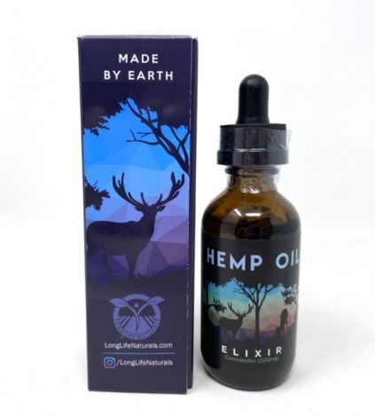 Made by Earth Hemp oil 1500mg elixir