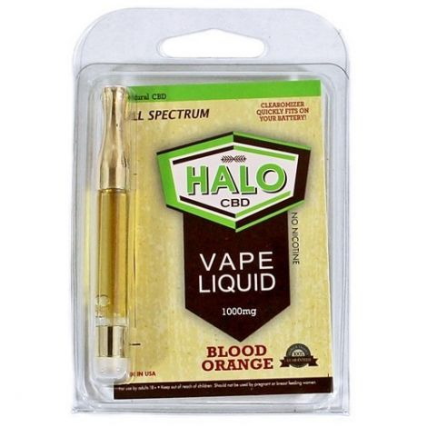 Blood Orange - Halo CBD Vape Cartridge (1000mg)