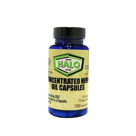 Halo CBD Capsules 30ct 750MG