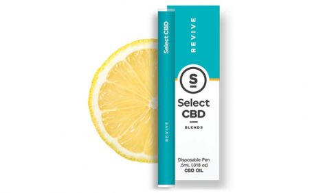 Select CBD Revive | Lemon Vape Pen 250mg
