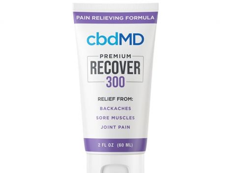 cbdMD Recover 2oz Squeeze - 300 MG