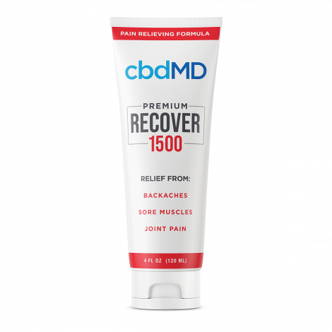 cbdMD Recover 4oz Squeeze - 1500MG