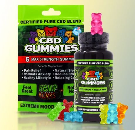 Hemp Bombs CBD gummies - 375mg