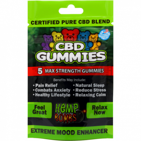 Hemp Bombs CBD gummies - 75mg