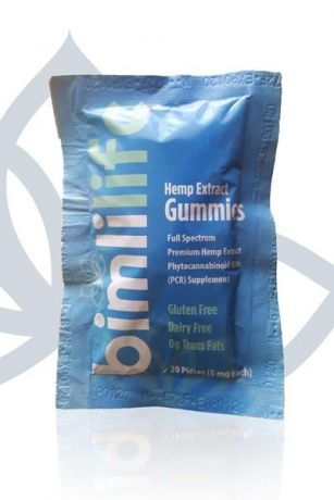 Bimlilife Hemp Extract Gummies - 100mg
