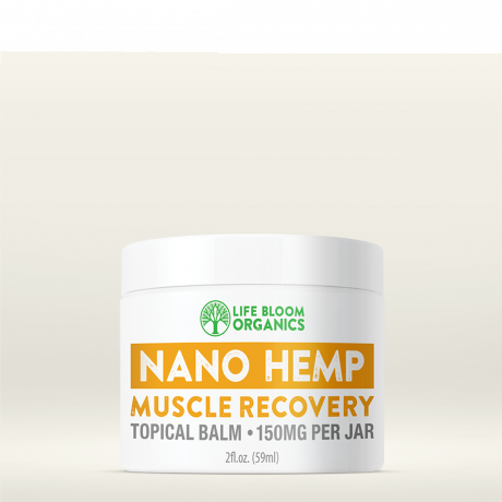 Life Bloom Organics Nano CBD Muscle Recovery Topical Balm - 150mg